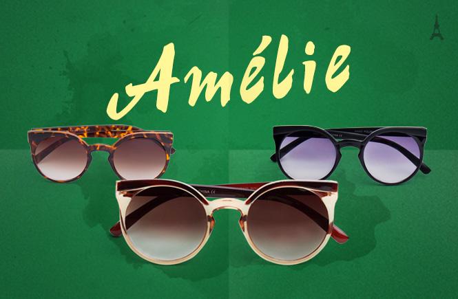 óculos Amélie
