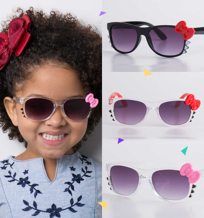 9d4491e37 Você já viu os novos modelos de óculos de sol infantil da UI! Gafas ...