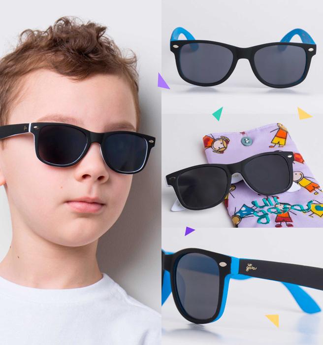 d07355f9ac64d Você já viu os novos modelos de óculos de sol infantil da UI! Gafas ...
