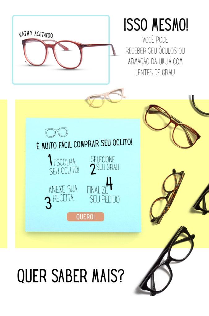 Como ganhar um par de lentes Ui! em 4 passos - Blog da Ui! Gafas a9cda5955f